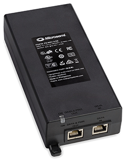 1-Port High-Power, 30W Per Port, 10 100 1000 BaseT Midspan, AC Input