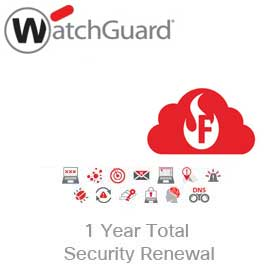 WatchGuard Total Security Suite Renewal/Upgrade for Firebox Cloud Small