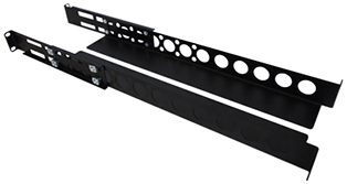 Datacel 1U 19in Universal Server Rack Rails