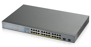 Zyxel GS1300-26HP 24-port GbE Unmanaged PoE Switch