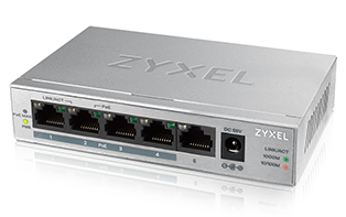 Zyxel GS1008HP 8-Port GbE Unmanaged PoE Switch