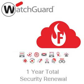WatchGuard Total Security Suite Renewal/Upgrade for Firebox Cloud Medium