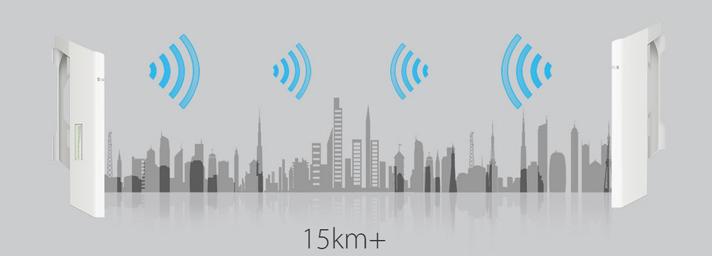 15Km+ Wireless Data Transmission