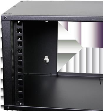 4u 275mm Deep Patching Cabinet