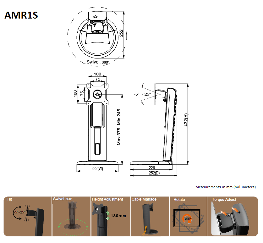 AMR1S instruction drawing
