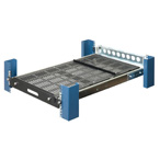RackSolutions Sliding Rack Mount Shelf, 106 kgs Capacity, 483 - 787 mm