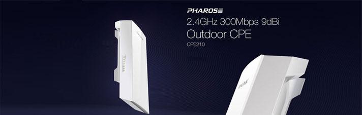 Pharos 2.4GHz 300Mbps 9dBi Outdoor CPE
