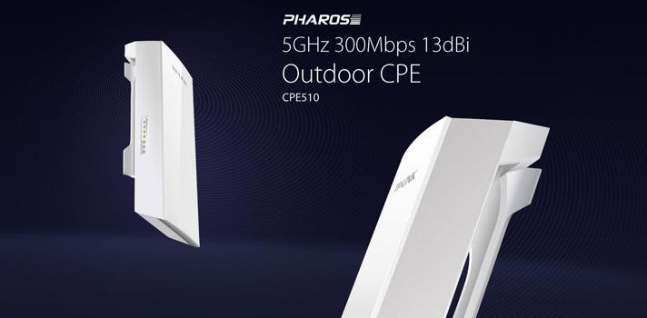 Pharos 5GHz 300Mbps 13dBi Outdoor CPE