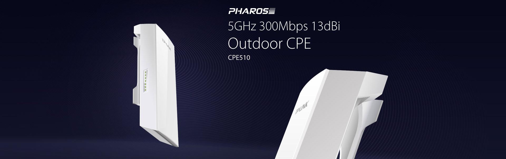 Pharos 5GHz 300Mbps 9dBi Outdoor CPE