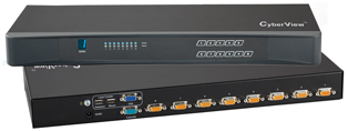8 Port Cyberview USB KVM Switch
