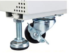 Castors and Levelling Feet
