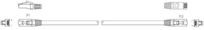 Cat5e External Patch Lead
