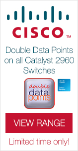 Double Data Points on all Catalyst 2960 Switches. Limited time only!