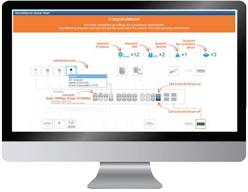 surveillance optimised web interface