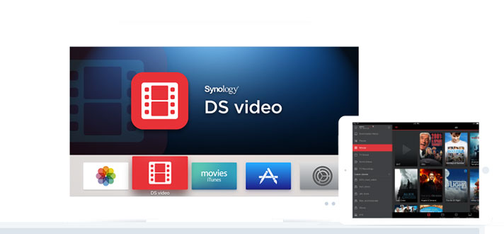 Synology DiskStation DS418play with 8TB WD Red HDD - 4 x 2TB WD Red