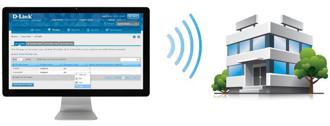 DWC-200 Unified Wireless Controller