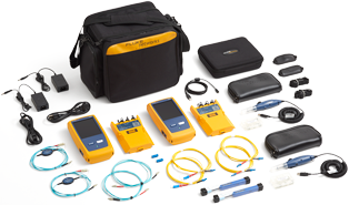 Fluke Networks CertiFiber Pro Quad OLTS V2 & Double Ended Inspc Wifi W/ 1 Year Gold Support