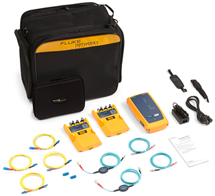 Fluke Networks CertiFiber Pro Quad Add-On Kit W/V2 Remote