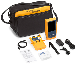 Fluke Networks OptiFiber Pro Quad OTDR V2 WiFi