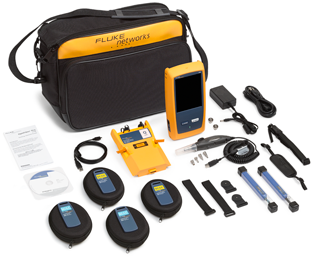 Fluke Networks OptiFiber Pro Quad OTDR V2 W/Inspc & WiFi