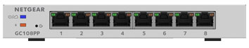 Netgear GC108PP 8 port smart cloud managed switch