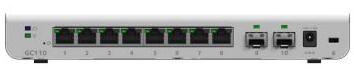 Netgear GC110P 8 port smart cloud managed switch
