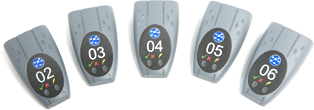 Ideal Networks Set of five active remotes #2 to #6 incl 6 cables for LanXPLORER, NaviTEK II and Sign
