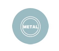 Metal housing