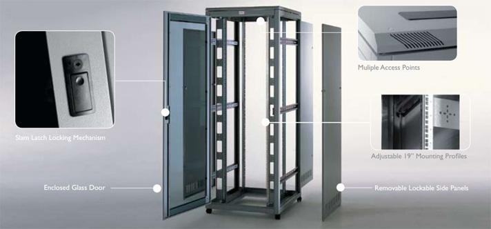 Prism PI Data Cabinets