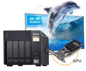 Optimal computing power and 4K video playback with a graphics card