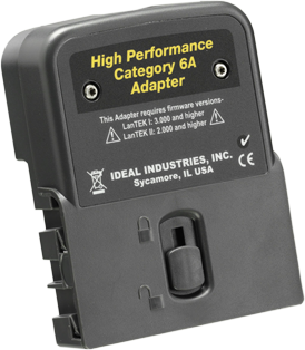 Ideal Networks Category 5/6/6A High Performance RJ45 Channel Adapter (Single)