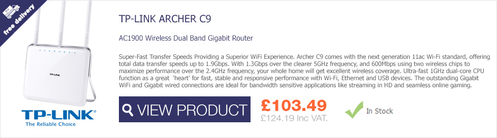 TP-Link ARCHER C9 Wireless Gigabit Router