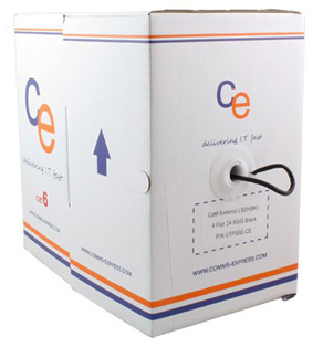CE Cat6 Cable UTP External 4 Pair LDPE - 305 Metre Box