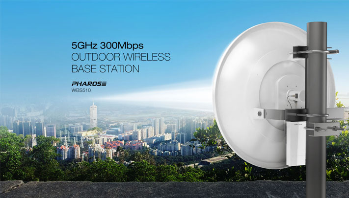 5GHz 300Mbps Outdoor Wireless Base Station