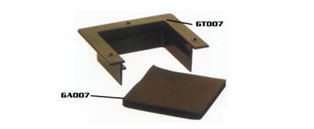 95mm x 160mm Cable Guard, Floor Tile Cut Out Edgin
