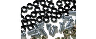 M6 Cage Nuts & Bolts (pack of 50)