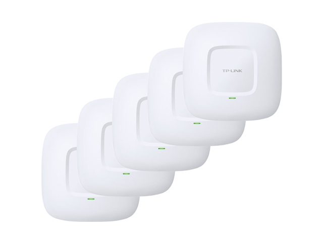 Tp Link Eap225 Pack Of 5 Ac1200 Simultaneous Dual Band