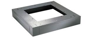 800mm(w) x 600mm(d) x 100mm(h) Cabinet Plinth   Comms Express