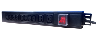 10 Way Mixed Socket PDU