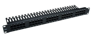 25 Port, 3 Pair Voice Panel (1u)