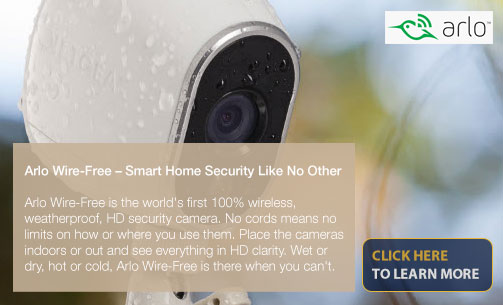 Arlo Wire-Free - Smart Home Security Like No Other