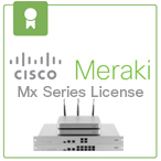 Cisco Meraki Cloud Managed Security Appliance Licenses