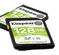 Kingston Technology Canvas Select SD Cards
