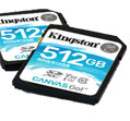 Kingston Technology Canvas Go! SD Cards