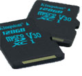 Kingston Technology Canvas Go! microSD Cards