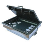 Electrical 3 Compartment Floor Boxes