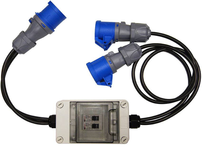 IEC 60309 16Amp & 32Amp Commando Cables & Adapters
