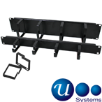 Usystems 4210 Vertical and Horizontal Cable Management