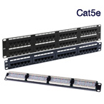 Cat5e Patch Panels CE & Excel Patch Panels