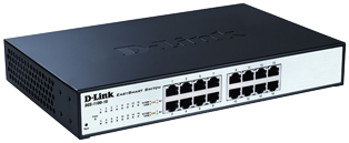 D-Link DGS-1100 Series Gigabit Smart Switches